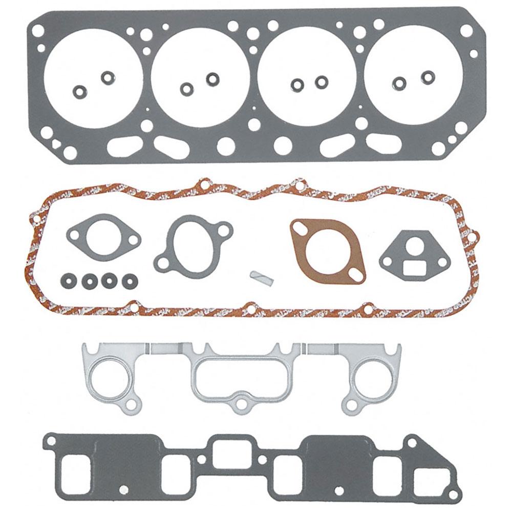 Pontiac Fiero                          Cylinder Head Gasket SetsCylinder Head Gasket Sets