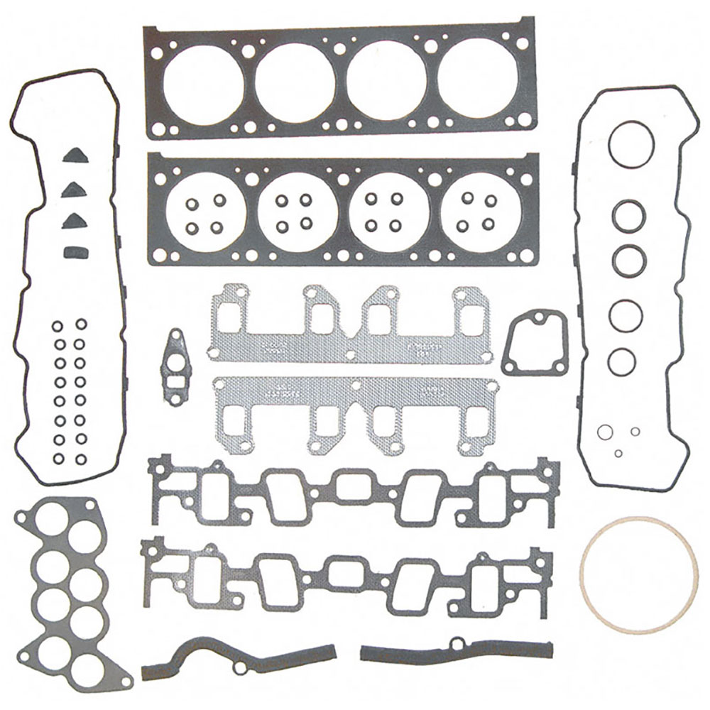 cadillac eldorado cylinder head gasket sets 7 0l engine