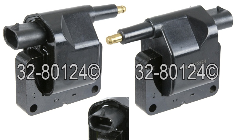 Dodge Daytona                        Ignition CoilIgnition Coil