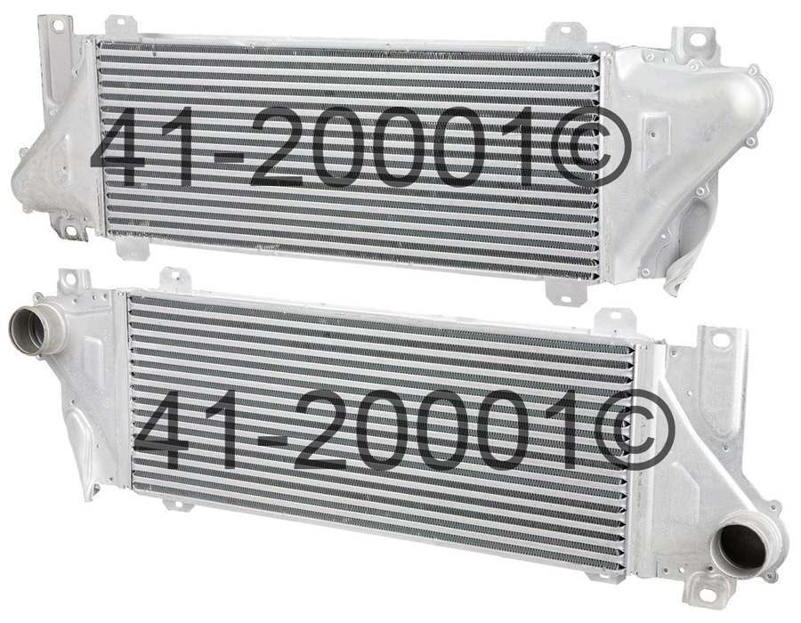 Dodge Sprinter Van                   IntercoolerIntercooler