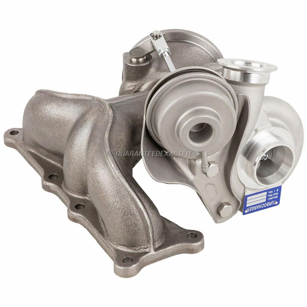 2010 BMW 535 535i xDrive Models - Rear Turbocharger [Cylinders 4 Through 6] Turbocharger