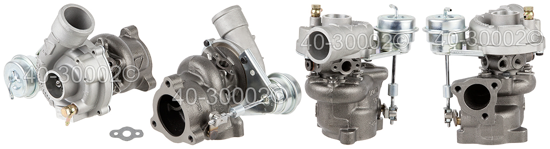 1996 Audi A4 All Models Turbocharger