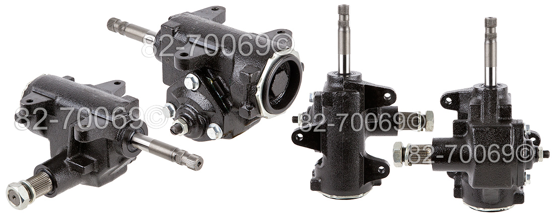 Ford F Series Trucks                Manual Steering Gear BoxManual Steering Gear Box