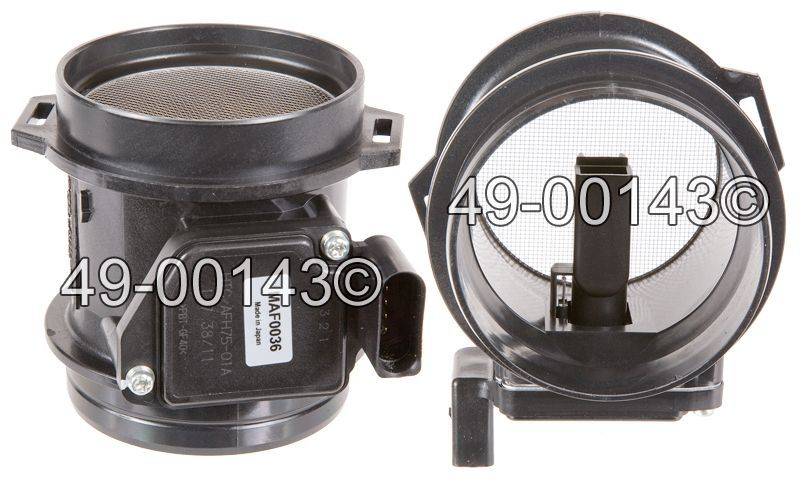 Audi Allroad Quattro                Mass Air Flow MeterMass Air Flow Meter