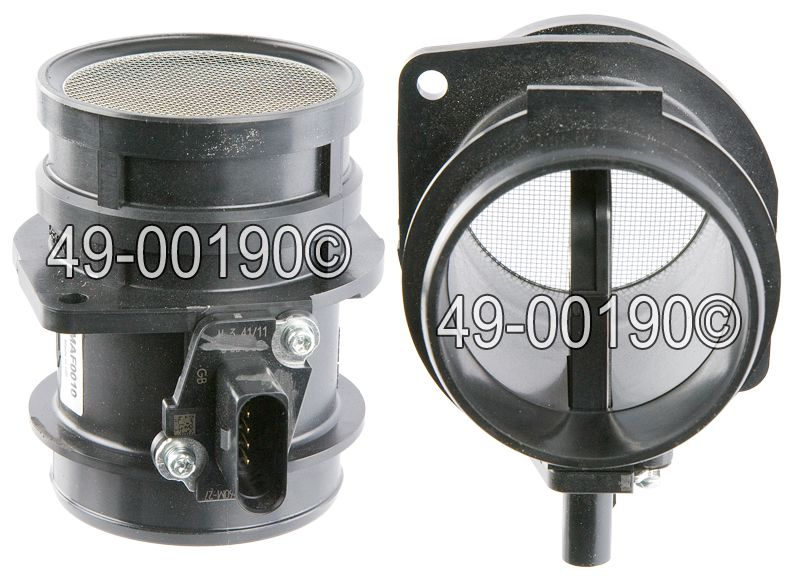 Volkswagen Eos                            Mass Air Flow MeterMass Air Flow Meter