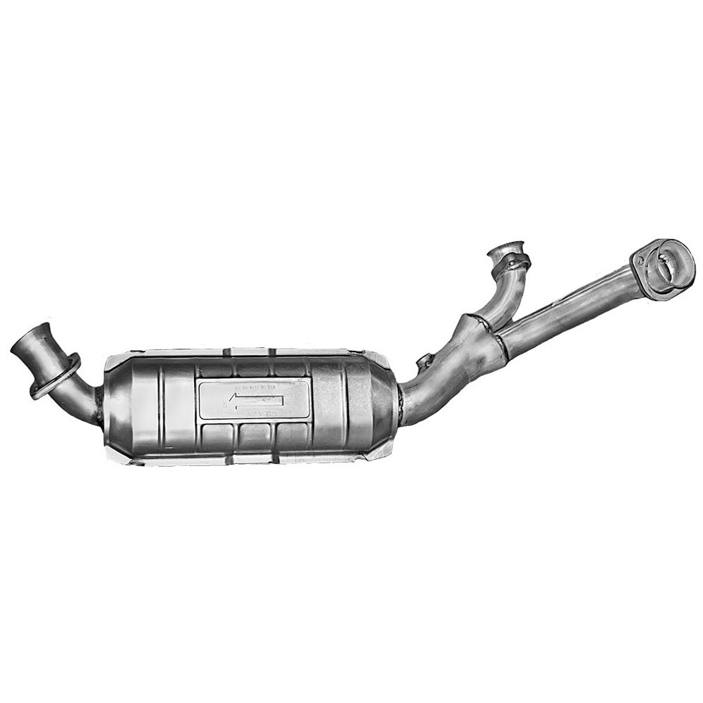 Mercedes_Benz 380SLC                         Catalytic ConverterCatalytic Converter