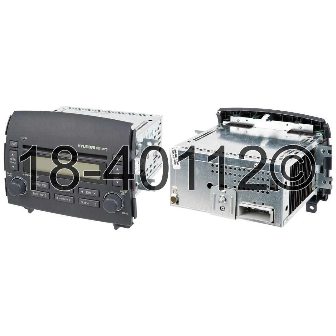 Hyundai Sonata                         Radio or CD PlayerRadio or CD Player