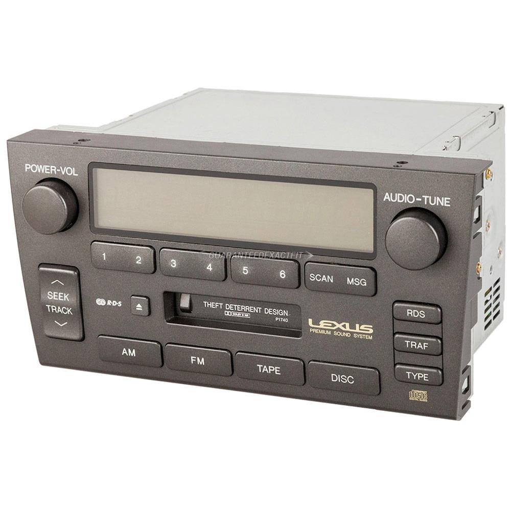Lexus GS300                          Radio or CD PlayerRadio or CD Player