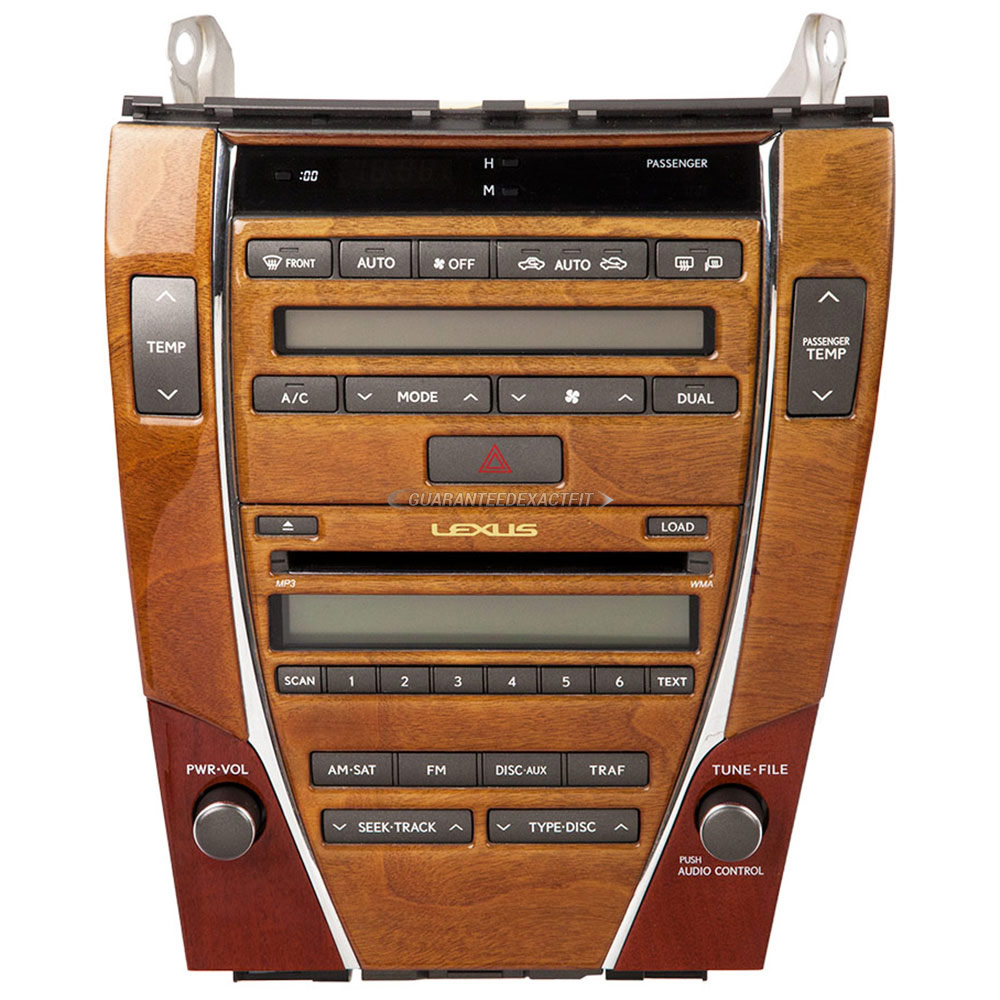 Lexus ES300                          Radio or CD PlayerRadio or CD Player