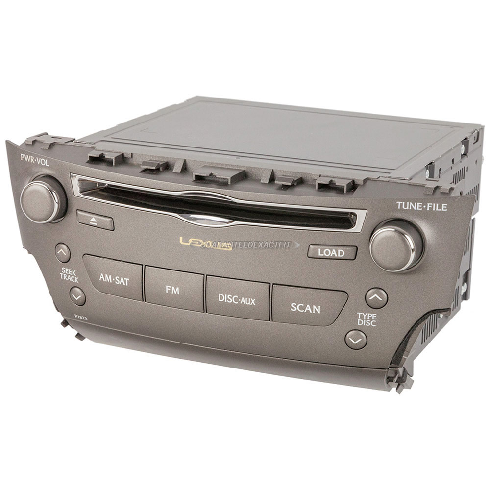 Lexus IS250                          Radio or CD PlayerRadio or CD Player