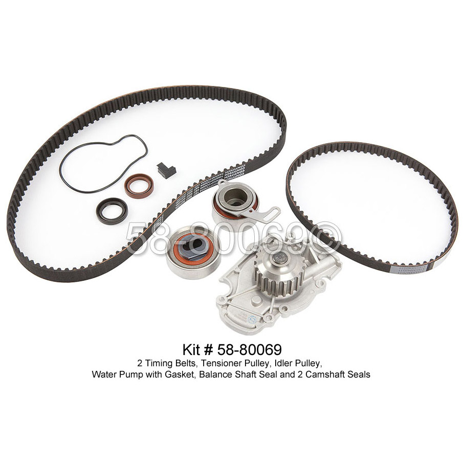 brand new genuine oem continental pro timing belt kit for