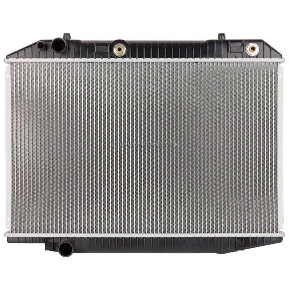 Mercedes_Benz 380SEC                         Radiator