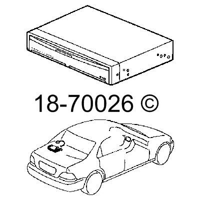 Acura RL                             DVD Navigation ModuleDVD Navigation Module
