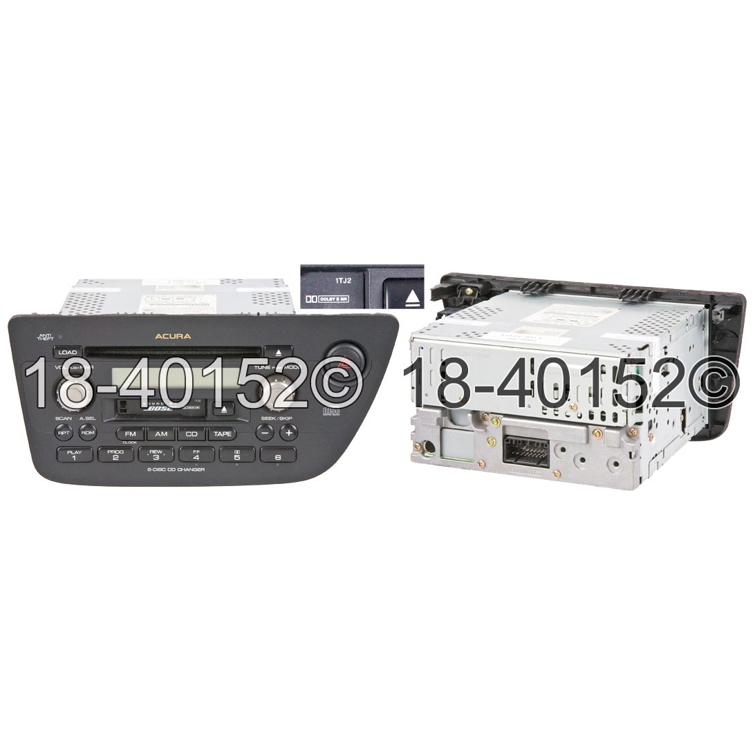 Acura RSX                            Radio or CD PlayerRadio or CD Player