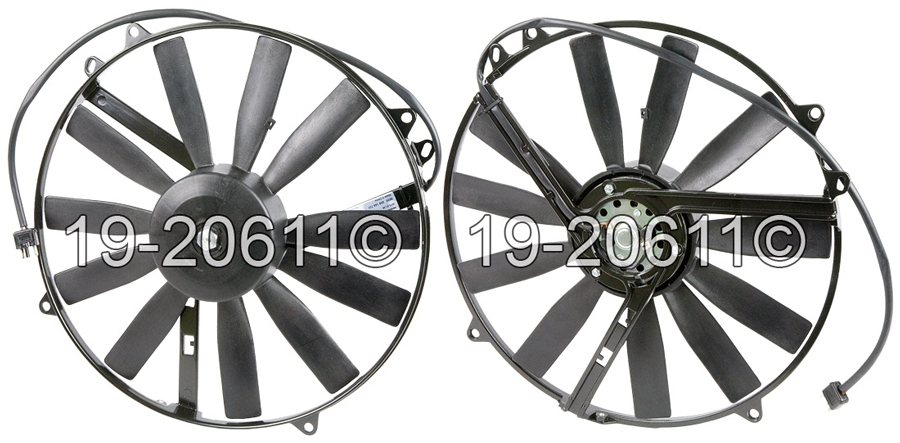 Dodge Sprinter Van                   Cooling Fan AssemblyCooling Fan Assembly