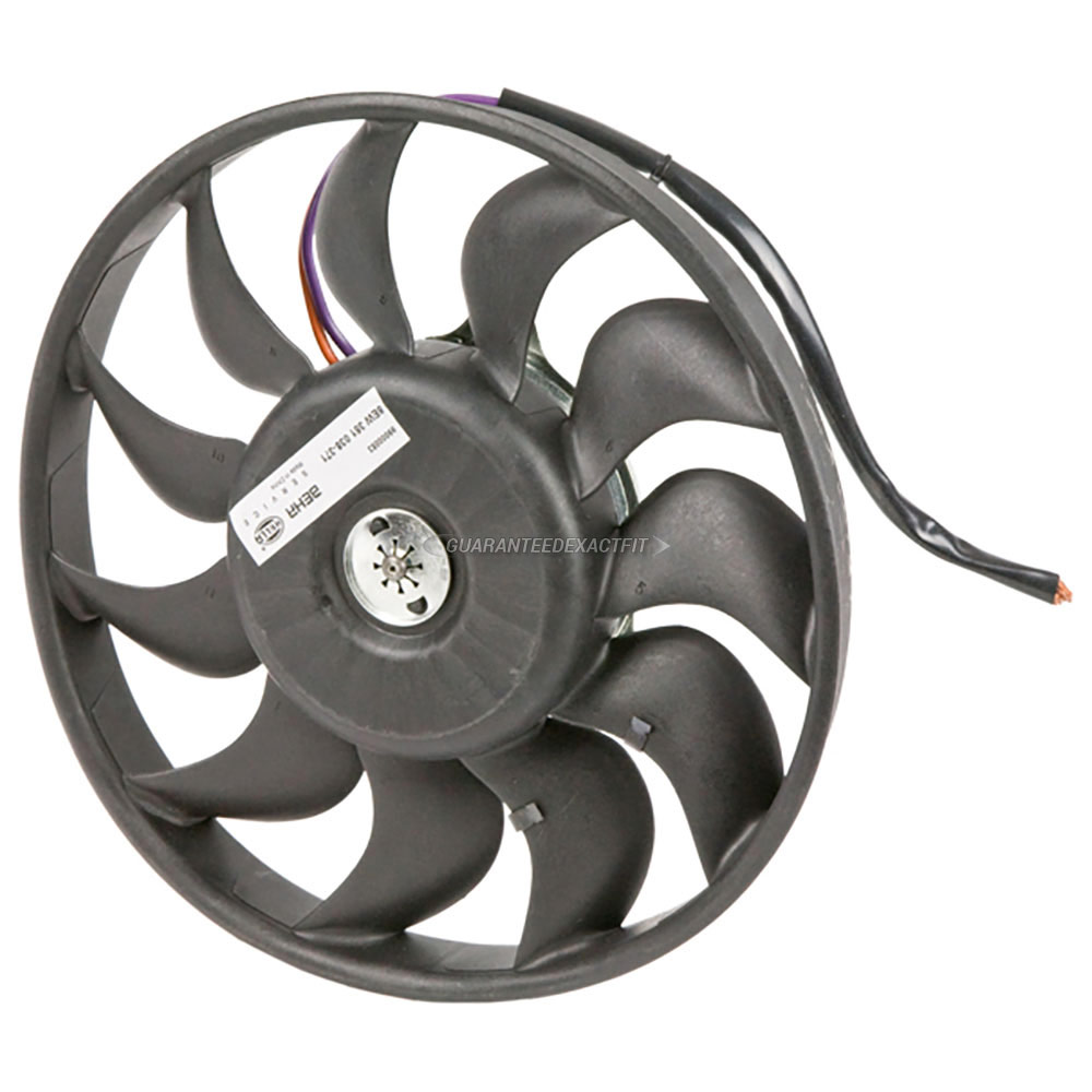 Audi A4                             Cooling Fan AssemblyCooling Fan Assembly