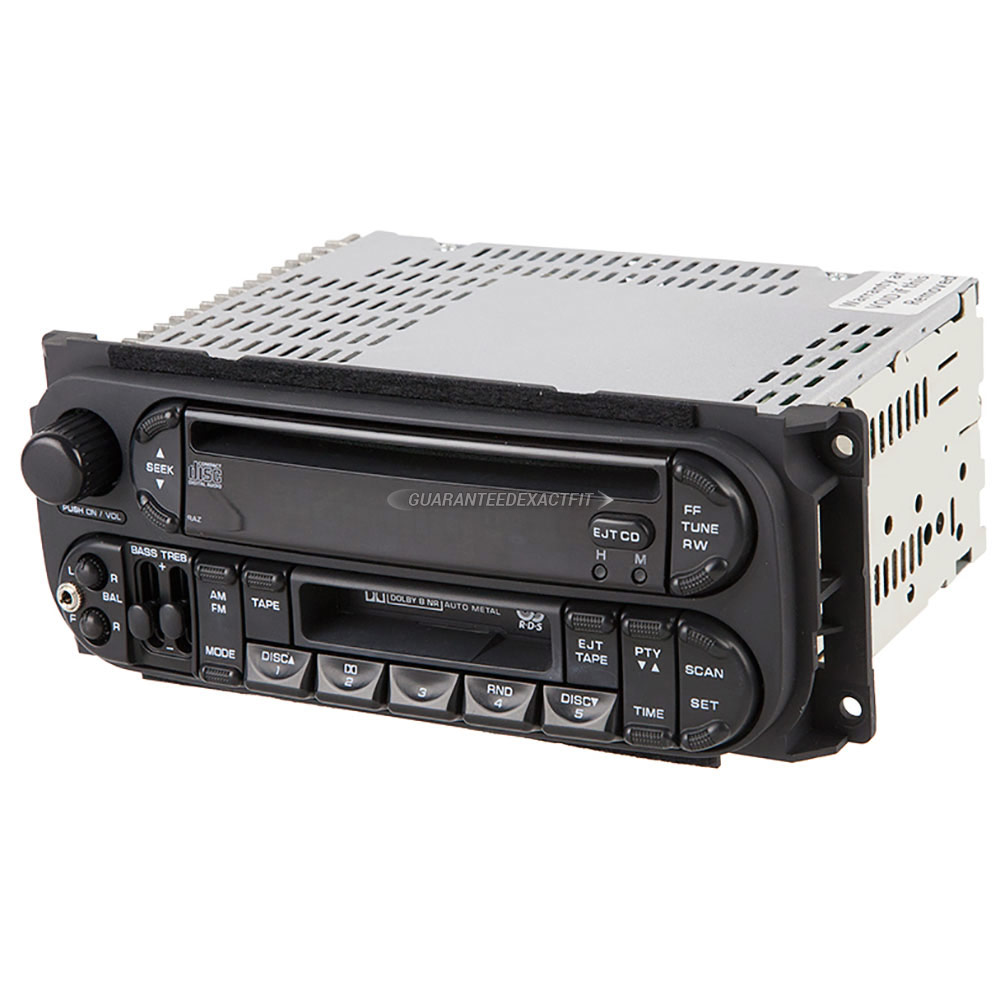 Chrysler Town and Country               Radio or CD PlayerRadio or CD Player