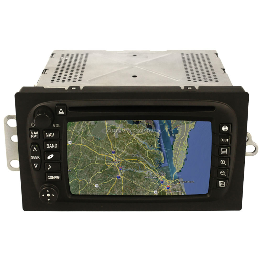 GMC Envoy                          Navigation UnitNavigation Unit