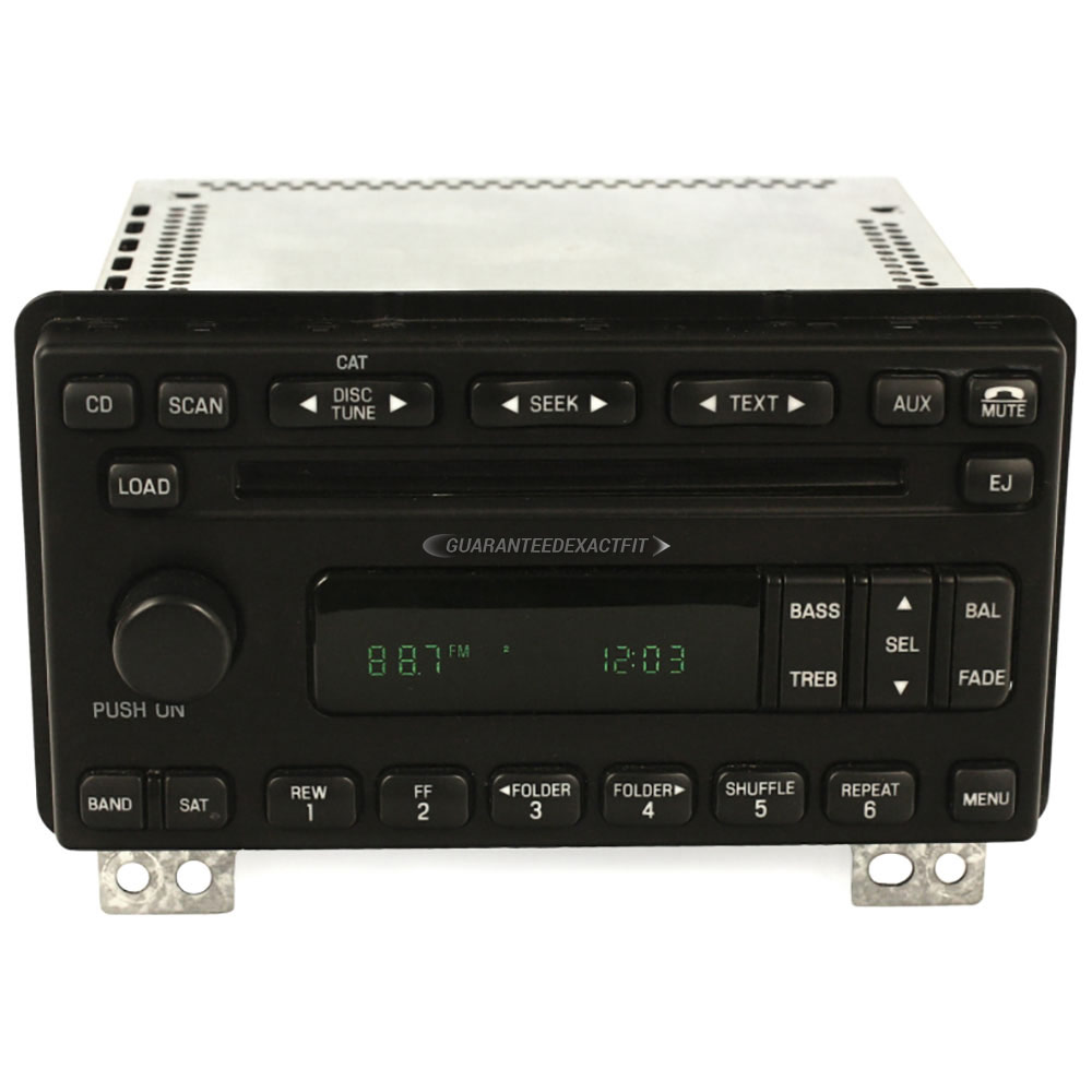Ford Expedition                     Radio or CD PlayerRadio or CD Player