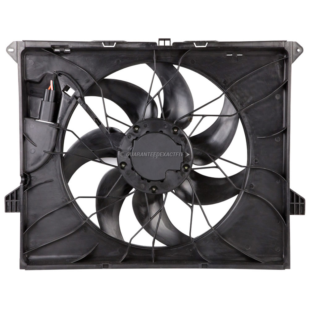 Mercedes_Benz ML550                          Cooling Fan AssemblyCooling Fan Assembly