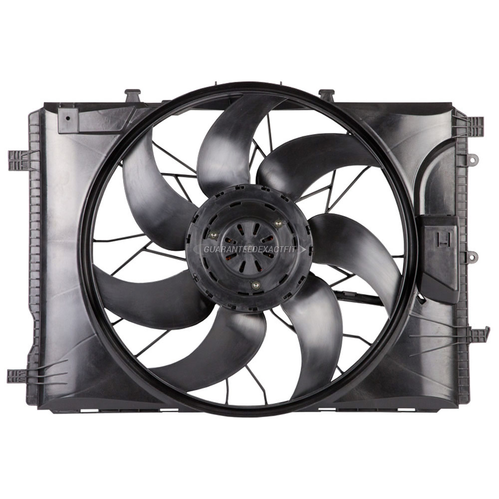 Mercedes_Benz C300                           Cooling Fan AssemblyCooling Fan Assembly