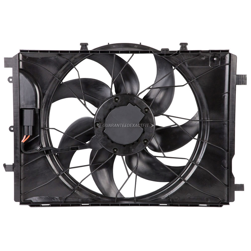 Mercedes_Benz C63 AMG                        Cooling Fan Assembly