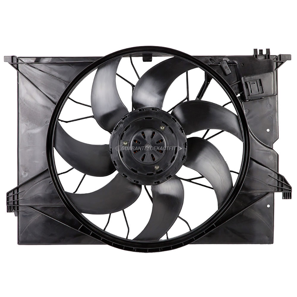 Mercedes_Benz S550                           Cooling Fan AssemblyCooling Fan Assembly
