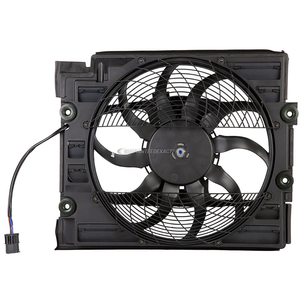 BMW 528                            Cooling Fan AssemblyCooling Fan Assembly