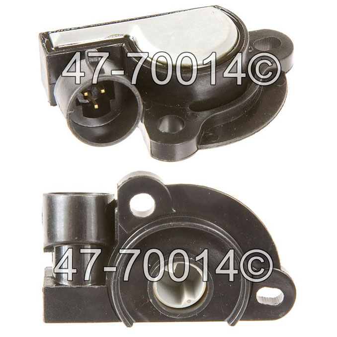 Pontiac Fiero                          Throttle Position SensorThrottle Position Sensor
