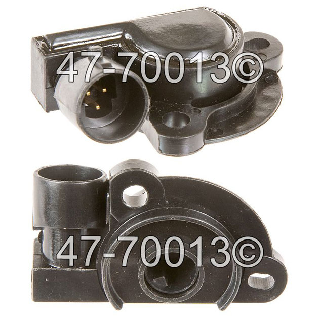 Cadillac Brougham                       Throttle Position SensorThrottle Position Sensor