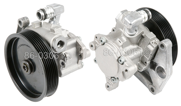 Mercedes_Benz ML550                          Steering Pump