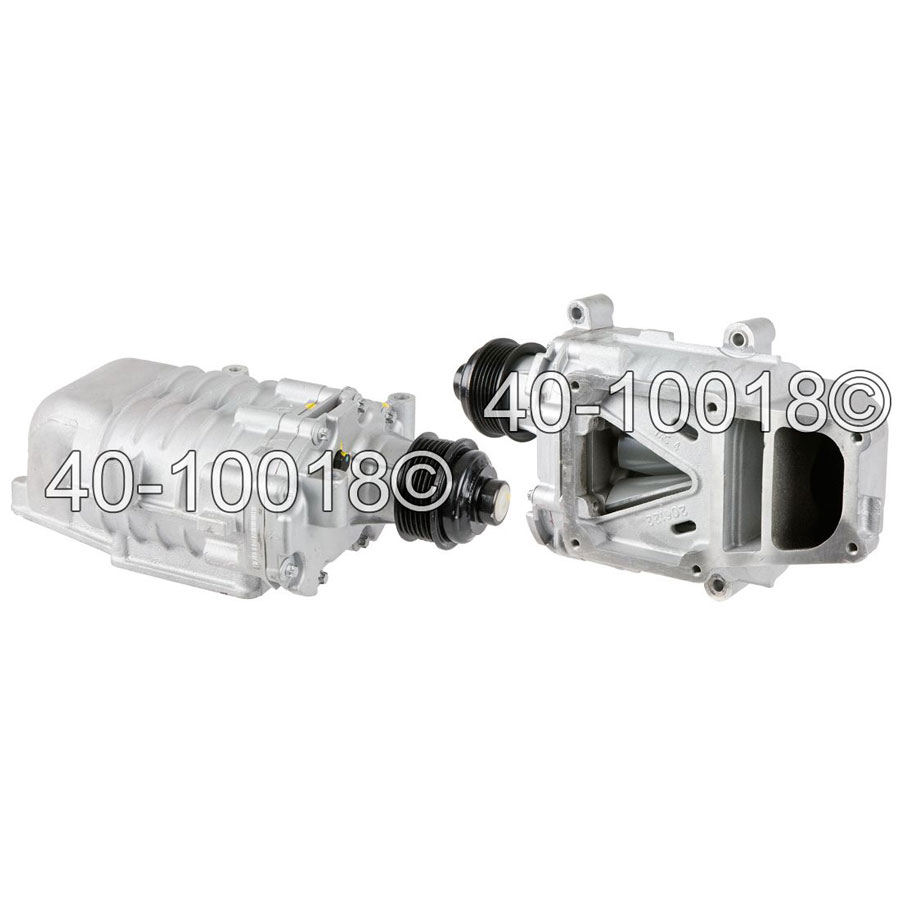 Mercedes Benz SLK320 For models without Electronic Clutch Supercharger