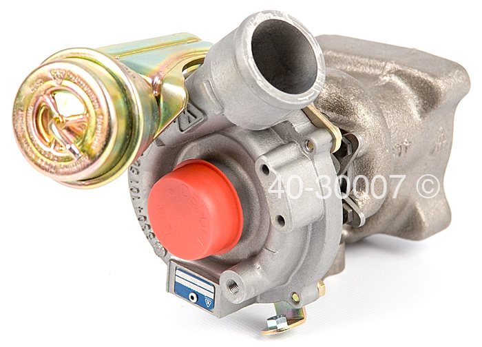 2002 Audi A6 2.7L Engine - Left Side Turbo Turbocharger