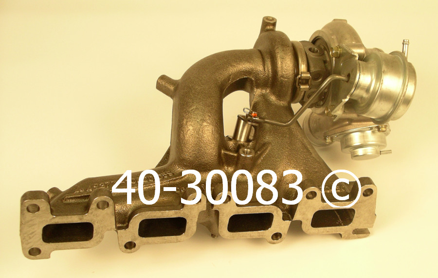 2006 Dodge Neon All Turbocharged Models Turbocharger
