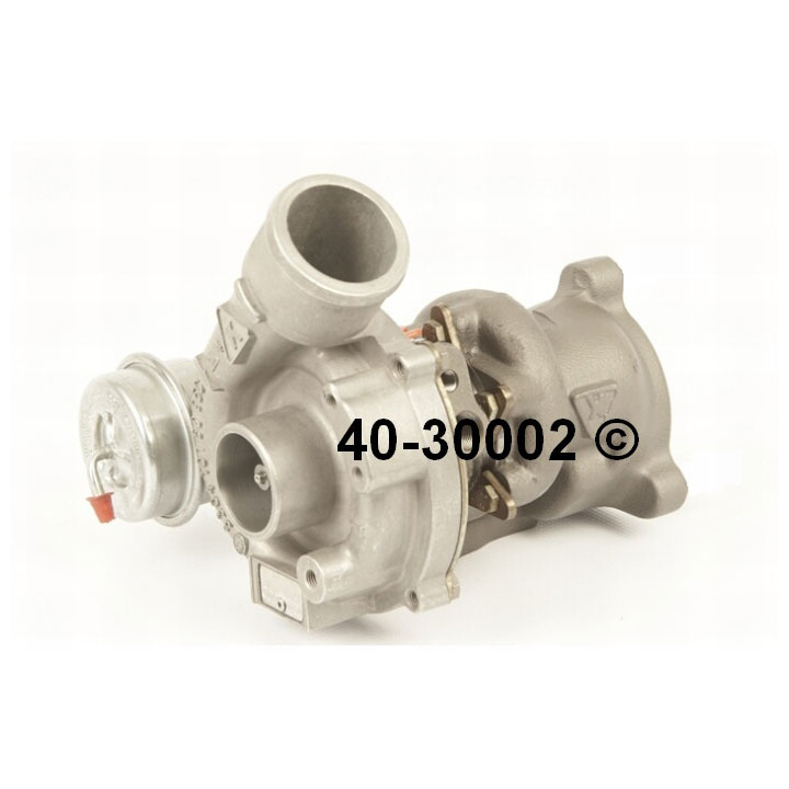2002 Audi A4 All Models Turbocharger