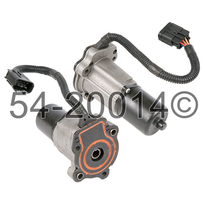 GMC Envoy                          Transfer Case Encoder MotorTransfer Case Encoder Motor