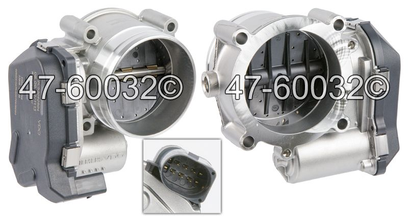 Audi Q7                             Throttle BodyThrottle Body