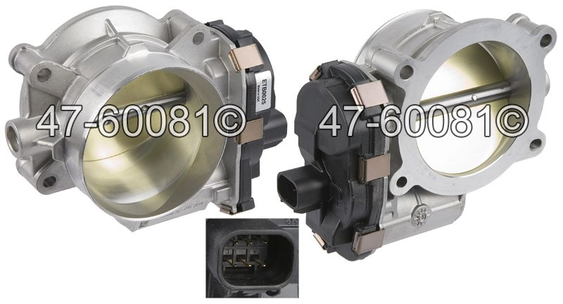 Cadillac CTS                            Throttle BodyThrottle Body