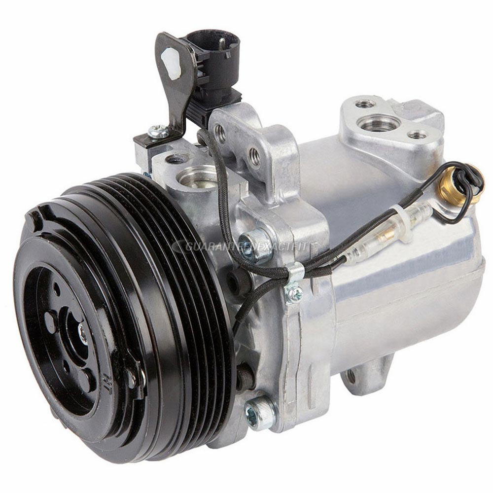 New OEM Genuine Seiko Seiki AC Compressor & A/C Clutch