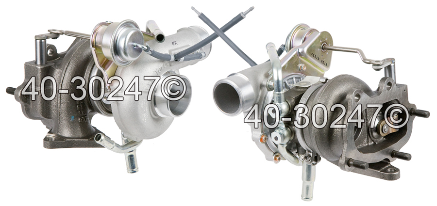 2007 Subaru Impreza WRX STi Models Turbocharger