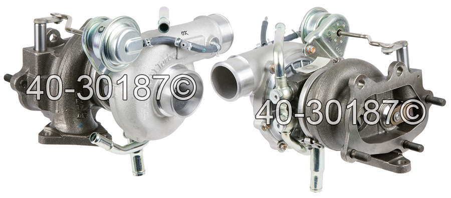 2008 Subaru Impreza WRX STI Models Turbocharger
