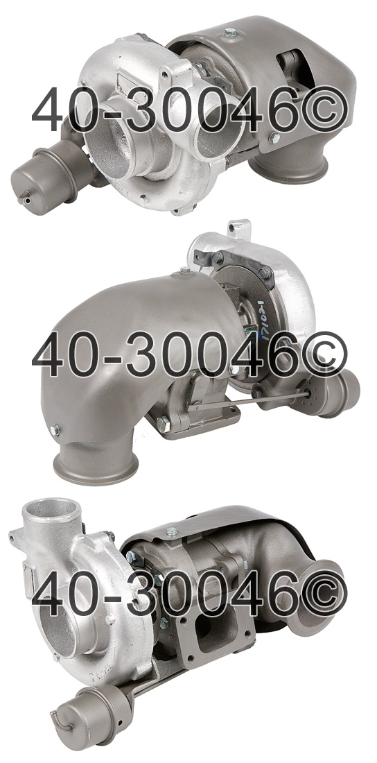 1995 Chevrolet Suburban 6.5L Diesel Engine Turbocharger