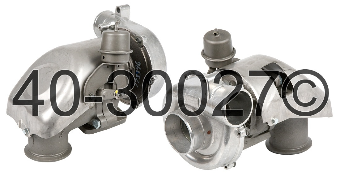 2001 GMC Suburban 6.5L Diesel Engine Turbocharger