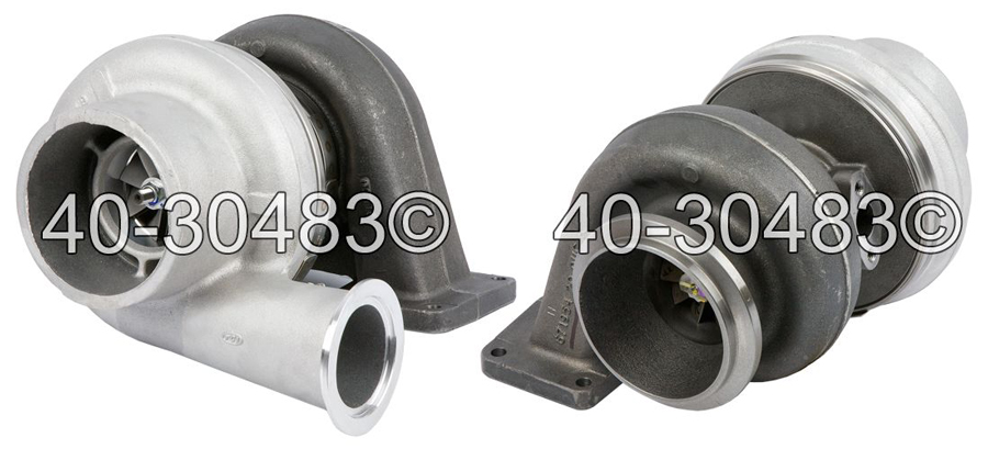2012 Freightliner All Truck Models For Engines With Borg Warner Turbocharger Number 172033 Turbocharger