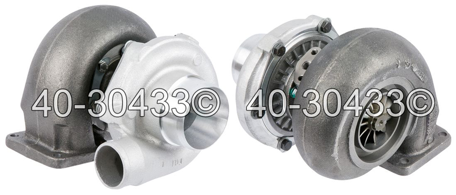 1970 International All Models Navistar DT466 Engines with Garret Turbocharger Number 409770-0019 Turbocharger