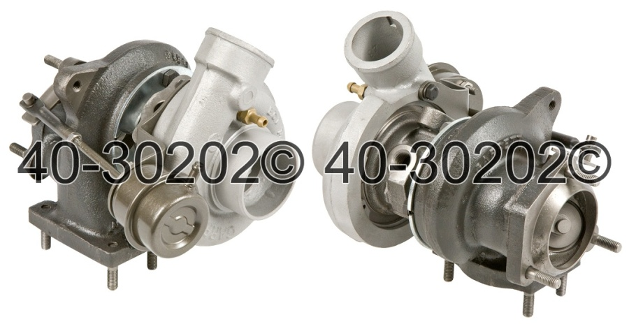 Saab 9000 2.3L Base Models [Engine Code B234L] Turbocharger