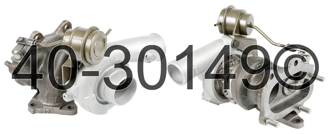 2008 Subaru Forester XT Models Turbocharger