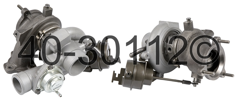 2009 Saab 9-3 2.0L Engine Turbocharger