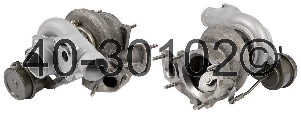 2009 Saab 9-3 2.8L Engine Turbocharger