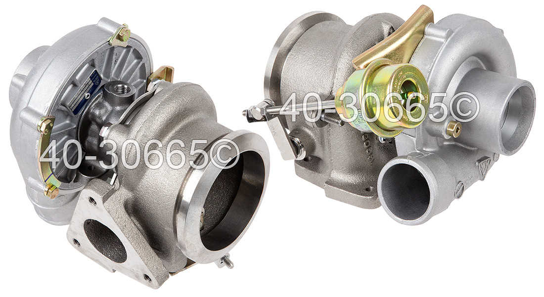 Mercedes_Benz E300D                          TurbochargerTurbocharger
